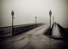 Black and White #white #black #photography #and #bridge