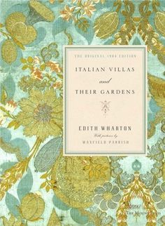The Book Cover Archive: Italian Villas and Their Gardens, design by Gabriele Wilson #cover #book #typography