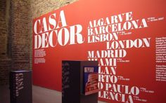 NB: Casa Décor Loft #interior #design #typography
