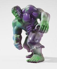 Paddle8: The Incredible Hulk - Kostas Seremitis #hulk #incredible #the #seremitis #vinyl #kostas #art #toy