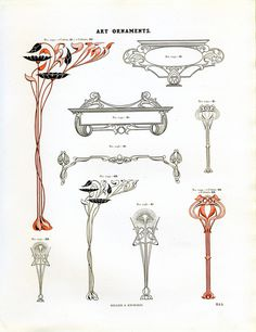 Miller and Richard Art Ornaments #ornamental #art #deco