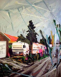 Kim Dorland | PICDIT #art #paint #painting