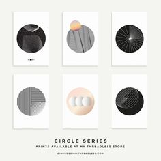 Circles series complete | Prints available on Behance