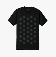 Common Theory #dots #tshirt #black #polka