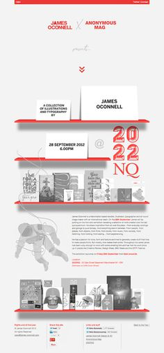 James Oconnell x 2022NQ Exhibition #design #illustration #exhibition #james oconnell #2022nq