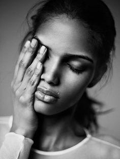 Model to Watch: Cris Urena from New York Models  Photographer: Billy Kidd  #portrait #photography #blackandwhite #woman