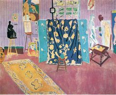 Henri Matisse WikiPaintings.org #pattern #color #reference #art #matisse