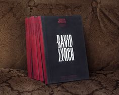 Graphic design inspiration – Mythology of Violence book series #david lynch #typography #book cover #books #publication #warped