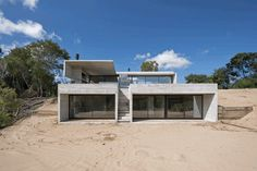 Concrete Summer House in Costa Esmeralda, Argentina 2