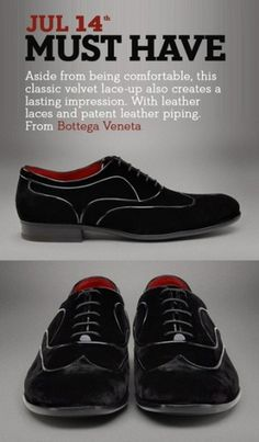 http://gestaltic.tumblr.com/post/811763733/nero-velvet-shoe-from-bottega-veneta #fashion