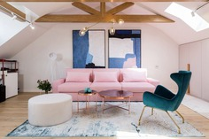 Pink Drops Attic / Jooca Studio