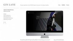 Gin Lane Media - Web design inspiration from siteInspire #cvvvv