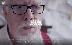 present plus webdesign website site of the day  mindsparkle mag one minute wonders video documentation design designer netherland amsterdam