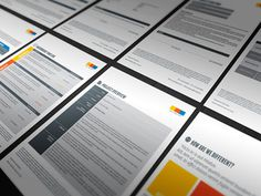 Proposal, Contract & Invoice #invoice #print #proposal #contract #template