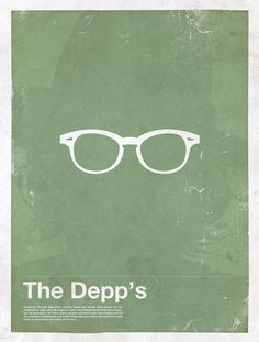 Moxy Creative Posters | Framework | Movie posters | TrendLand: Fashion Blog & Trend Magazine #glasses #depp #illustration #framework #poster