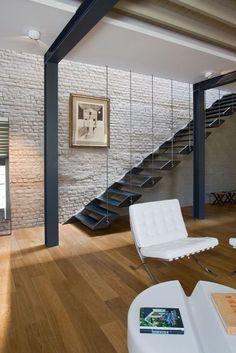Franken House / Bekhor Architecte – Modern Stairs #moder #stairs