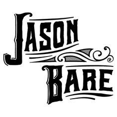 Jason Bare #logo #lettering #hand #typography