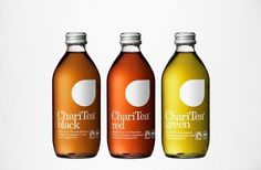 BVD — Lemonaid & Charitea #bottle #packaging #charitea #tea #bvd