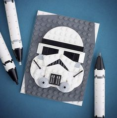 LEGO Brick Sketches | Picame Daily dose of creativity #stormtrooper #starwars #lego