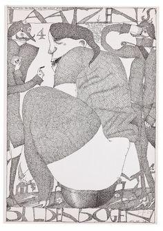 Laatzen Bilderbogen 1. Folge 4. Bogen 1967 Horst Janssen