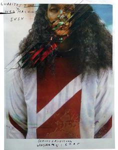 Serum Venom x Victor Antonio II - Serum Versus Venom #neo #versus #machine #venom #serum #fashion #collage #editorial