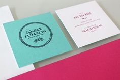 Charlotte Elizabeth Photographer « Stitch Design Co. #letterpress #cards #business #stationery