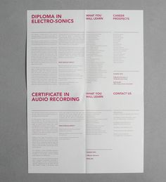 Orita Sinclair Prospectus (Back) on Behance #design #grid #poster #singapore #prospectus #typography
