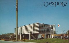 Pavilion of Japan at Expo '67 Montreal, Quebec | Flickr Photo Sharing! #expo #montreal #world #fair #67