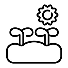 See more icon inspiration related to grow, enviroment, growing plant, farming and gardening, growing, leaves, leaf, natural, plants, plant and nature on Flaticon.