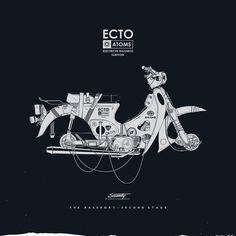 Gianmarco Magnani #illustration #moped