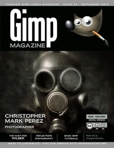 GIMP Magazine Issue 4 #steve #print #czajka #cover #photography #perez #gimp #christopher #magazine