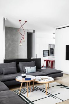 240 sqm Duplex Apartment Transformed into a Contemporary Colourful Family Space 1