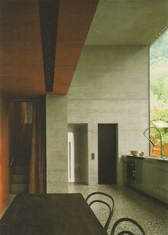 openhouse barcelona architecture peter zumthor own home haldenstein switzerland 7 #architecture