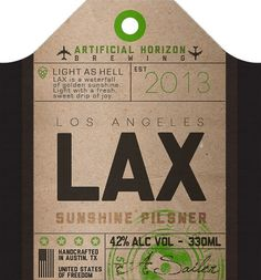 lax-tag #beer #tag #bottle