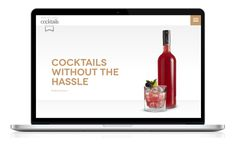 White Label Cocktails Website Design and Development, by Redspa http://redspa.uk