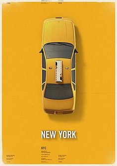 FFFFOUND! #york #yellow #taxi #new