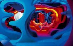 WANKEN - The Blog of Shelby White » Verner Panton Visiona #interior design #1960s #1970s #verner panton
