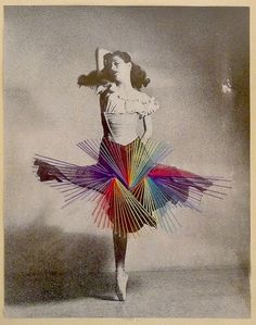 Colorful Thread Breathes New Life Into Old Photos - My Modern Metropolis #art #sewing