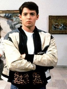 Topcelebsjackets brings a Memory from An All-Time Favorite Drama Series, Ferris Bueller's Day Off, may be on your Favorite too. Buy Now His Jacket. #matthewbroderick #ferrisbuellers #leatherjacket #ferrisbuellersdayoff #fashion #vintage #film #movie #teen #sale #love