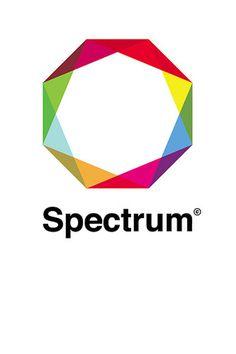 Spectrum Logo #font #color #logo #helvetica #rainbow