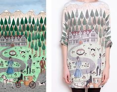 La Casita de Wendy PATTERNS #pattern #print #illustration #fashion #trees