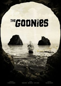 The Goonies Film Poster #photography #film poster #the goonies