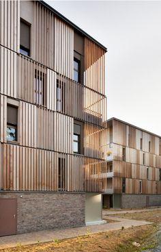 Lucien Rose Complex / Atelier du Pont #architecture #fields #facades