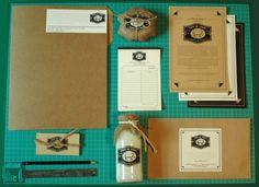 GARVO - Papelería para Quesos de Oveja Valle de Tango... #design #image #corporate #logo #layout #papelera
