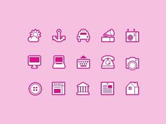 Dribbble - Symbolicons Line Continues! by Jory Raphael