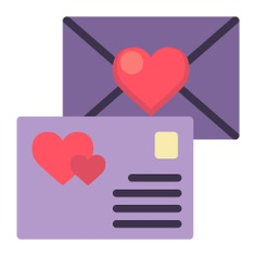 See more icon inspiration related to love and romance, wedding invitation, valentines day, love letter, romantic, communications, card, heart and love on Flaticon.