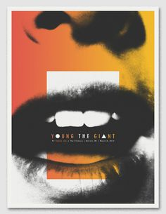 GigPosters.com - Young The Giant #poster #gradient