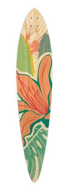 Lucie Blaze limited edition longboard
