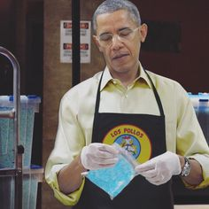 "blazepress: ""Obama's new job. """