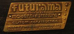 Futurama #geddes #worlds #1939 #plaque #fair #furniture #bel #futurama #norman